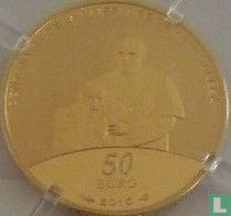 """France 50 euro 2010 (PROOF) """"Centenary of the birth of Mother Teresa"""""""