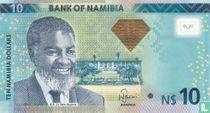 Namibia 10 Namibia Dollars 2013