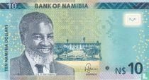 Namibia 10 Namibia Dollars 2015