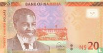 Namibia 20 Namibia Dollars 2015