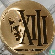 """France 50 euro 2011 (PROOF) """"XIII"""""""