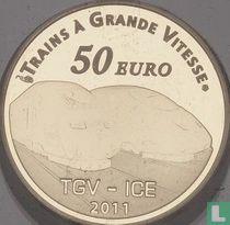 "France 50 euro 2011 (PROOF) ""Metz TGV station"""