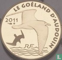 """France 50 euro 2011 (PROOF) """"50 years of the WWF - Audouin's gull"""""""