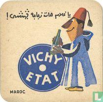 """Maroc Vichy Etat / Dit is een van de 30 bierviltjes """"Collectie Expo 1958""""."""