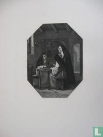 de beoefening der Schoone Kunsten in het Klooster van Harlinde en Renilde te Eyk in Limburg