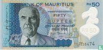 Mauritius 50 Rupees 2013