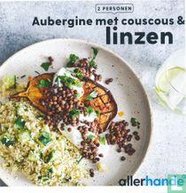 Aubergine met couscous & linzen