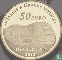 "France 50 euro 2012 (PROOF) ""Lyon TGV station"""