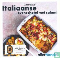 Italiaanse ovenschotel met salami
