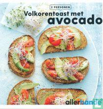 Volkorentoast met avocado