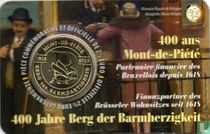 """Belgium 2½ euro 2018 (coincard - FRA) """"400 years Mount of Piety"""""""