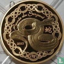 "Frankrijk 50 euro 2013 (PROOF) ""Year of the Snake"""