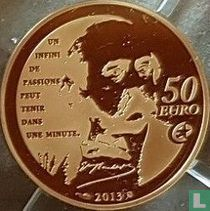 "Frankrijk 50 euro 2013 (PROOF) ""Heroes of the French literature - Madame Bovary"""