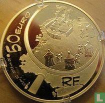 """Frankrijk 50 euro 2013 (PROOF) """"Astérix"""""""
