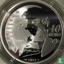 "Frankrijk 10 euro 2013 (PROOF) ""Heroes of the French literature - Madame Bovary"""