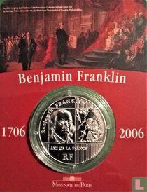 "Frankrijk ¼ euro 2006 (folder) ""300th anniversary of the birth of Benjamin Franklin"""
