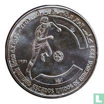 """Arabische Democratische Republiek Sahara 500 pesetas 1991 """"1994 American States Games - Soccer"""""""