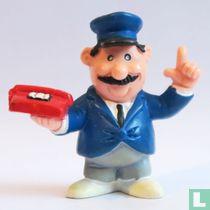 Mailman with Telephone
