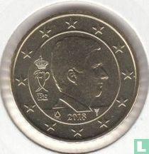 Belgium 50 cent 2018