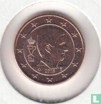Belgium 1 cent 2018