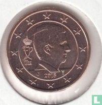 Belgium 2 cent 2018