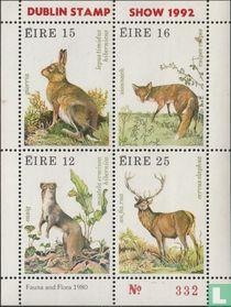 Wilde dieren (Dublin Stamp show 1992)