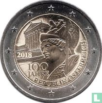 "Austria 2 euro 2018 ""100 years of the Austrian Republic"""