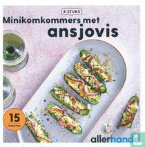 Minikomkommers met ansjovis