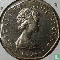 Man 50 pence 1976 (koper-nikkel)