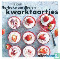 No-bake aardbeien kwarktaartjes