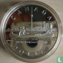 "Canada 1 dollar 1984 ""150th Anniversary of Toronto"""