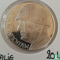 Mussolini 20 Lire 1928