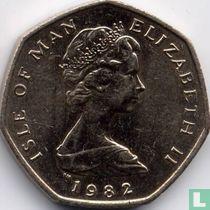 Insel Man 20 Pence 1982 (AB)