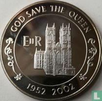 "Ascension 50 pence 2002 ""Queens Golden Jubilee"""