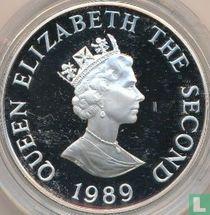 "Alderney 2 pounds 1989 (PROOF - silver) ""Royal Visit"""
