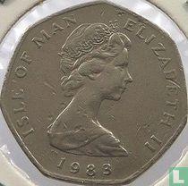 Insel Man 20 Pence 1983