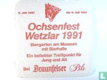Braunfelser Pils / Ochsenfest Wetzlar 1991