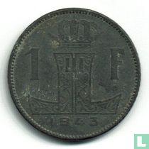 België 1 franc 1943 (NLD-FRA)