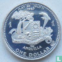 "Anguilla 1 dollar 1969 (PROOF) ""Anguilla Island"""