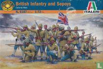 British Infantry and Sepoys