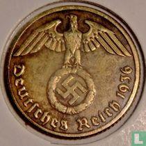 Duitse Rijk 10 reichspfennig 1936 (hakenkruis - E)