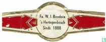 Fa. W.J. Baudoin 's-Hertogenbosch Sinds 1888