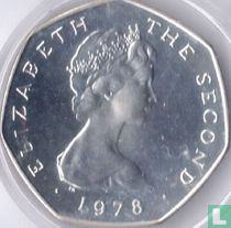 Man 50 pence 1978 (zilver)