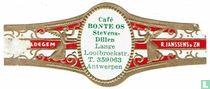 Café Bonte Os Stevens-Dillen Looibroekstr. T. 359063 Antwerpen - Maldegem - R. Janssens & Zn.