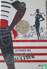 "Frankrijk 10 euro 2017 (folder) ""France by Jean Paul Gaultier - Roussillon"""