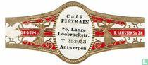 Café Piétrain 25, Lange Loobroekstr. T. 353053 Antwerpen - Maldegem - R. Janssens & Zn.