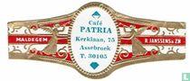 Café PATRIA Kerklaan, 75 Assebroek T. 30105 - Maldegem - R. Janssens & Zn.
