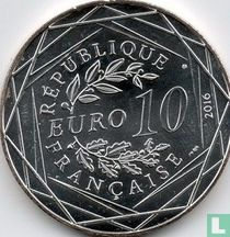 "Frankrijk 10 euro 2016 ""The Little Prince sails in Brittany"""