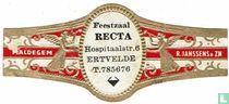 Feestzaal RECTA Hospitaalstr. 6 Ertvelde T. 785676 - Maldegem - R. Janssens & Zn.