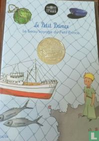 "Frankrijk 10 euro 2016 (folder) ""The Little Prince returns from fishing"""